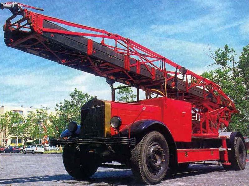 Mávag Daimler Benz Magirus 26/30 fa tolólétra