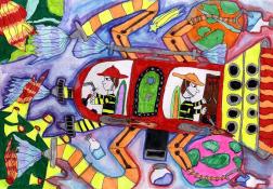 Nagy Krisztián, 4. osztály, Sándorfalva, Pallavicini Sándor Általános Iskola, alsó tagozat, jutalmazott. Felkészítő tanár: Török Zsuzsanna