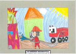 Kecskés Ajsa (8 éves, Nyíregyháza TINI'ART Képzős Műhely és a FREE DANCE Művészeti Iskola): Az emberek megmentője, a tűzoltók fecskendője! Felkészítő: Nagy Zoltán